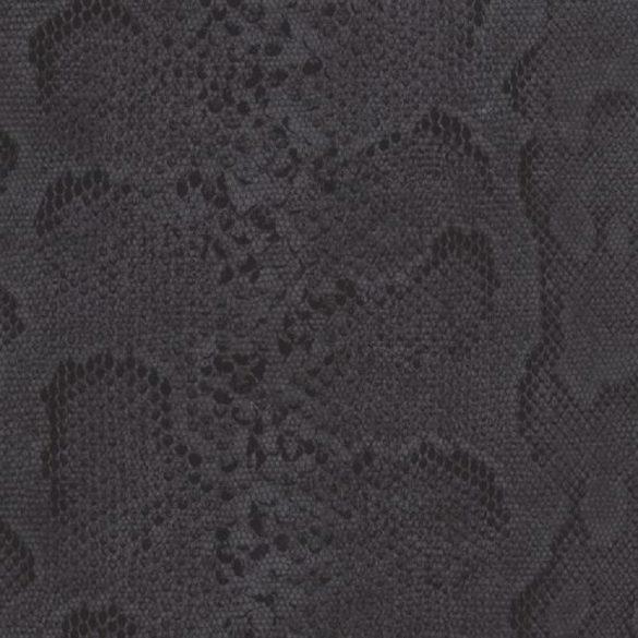 Fekete kígyóbőr mintás öntapadós tapéta a Dekormatricák Webáruházban