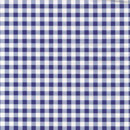Kék kockás öntapadós tapéta a Dekormatricák Webáruházban
