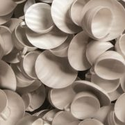 Csészék mintás öntapadós tapéta