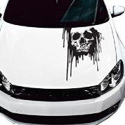 Véres koponya, autómatrica a Dekormatricák Autómatrica Webáruház kínálatából