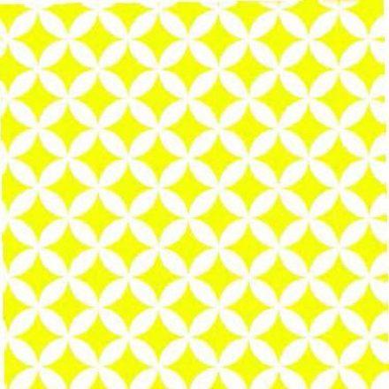 Elliot sárga mintás öntapadós tapéta