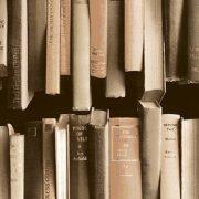 Vintage könyv mintás öntapadós tapéta a Dekormatricák Webáruházban
