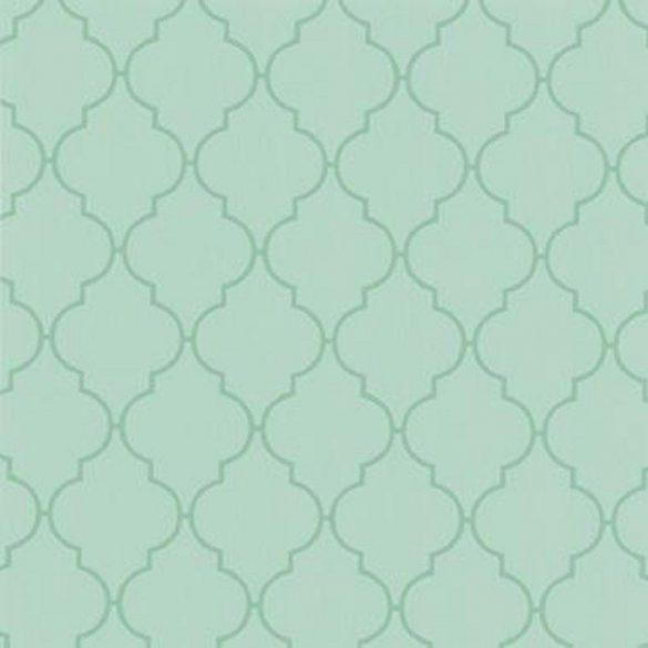Zöld dunya mintás öntapadós tapéta