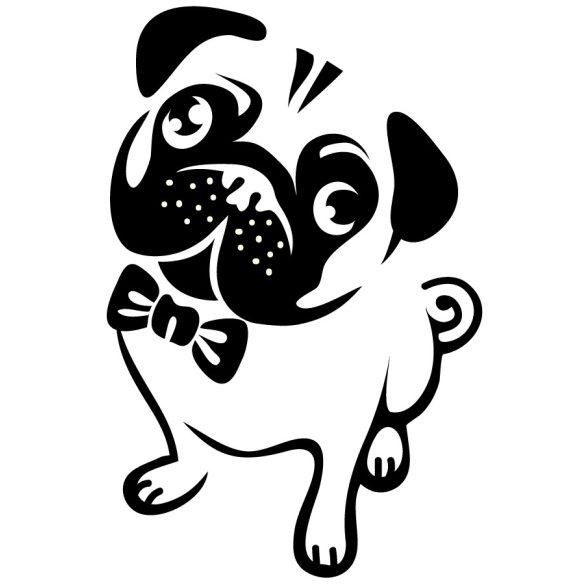 Bulldog úrfi, kutyás falmatrica a Dekormatricák falmatrica webáruházban