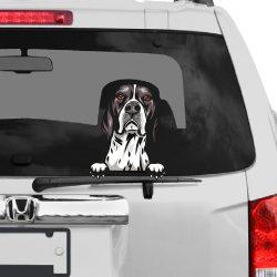 Angol Pointer rajzos autómatrica a Dekormatricák webáruház matricái közül
