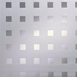Négyzetek - ablakdekor matrica
