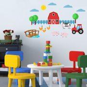 Farm1, falmatrica gyerekeknek a Dekormatricák Webáruházban
