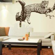 Leopárd, faltetoválás a Dekormatricák falmatrica webáruházban