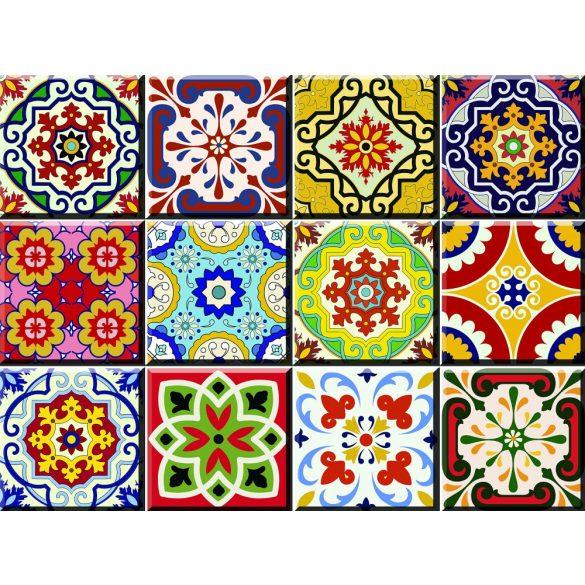 Minták-7 csempematrica csomag - Dekormatricák dekoráció webáruház