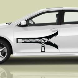 Zippzár autómatrica a Dekormatricák webáruház autómatricái közül