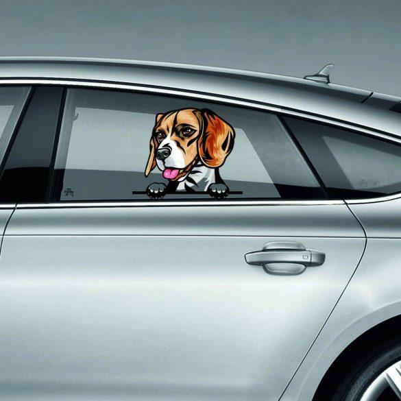 Airedale Terrier rajzos autómatrica a Dekormatricák webáruház matricái közül