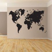 World Map falmatrica a Dekormatricák Webáruházban