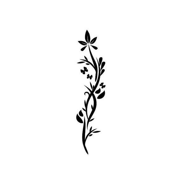Kecses virág pillangókkal