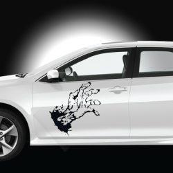 Zombikez autómatrica a Dekormatricák webáruház autómatricái közül