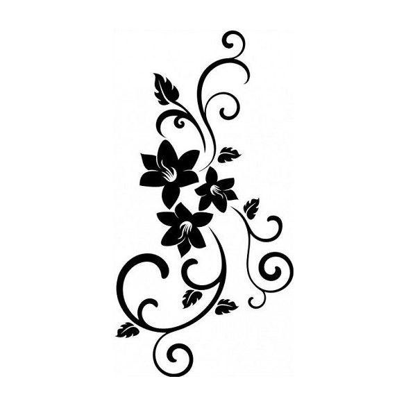 Nonfiguratív mintás virágok