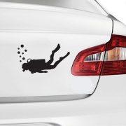 Búvár, autómatrica a Dekormatricák Webáruházban