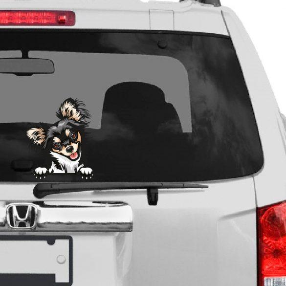 Csivava rajzos autómatrica a Dekormatricák webáruház matricái közül