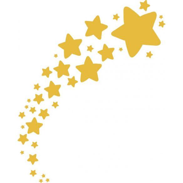 Csillagos ív, dekormatrica - Dekormatricák Webáruház