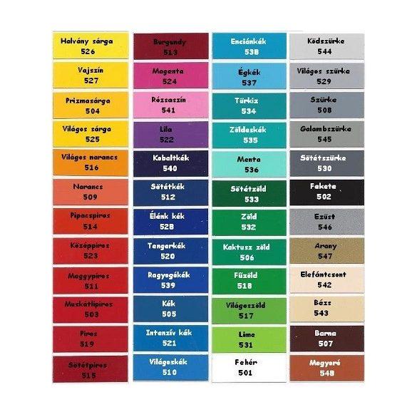 Lábnyomok, 12 db-os dekormatrica - Dekormatricák Webáruház