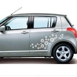 Virág, autómatrica 48 színben a Dekormatricák Autómatrica Webáruházban
