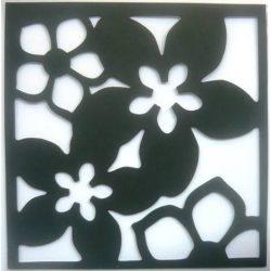 Virágok. polifoam öntapadós falikép