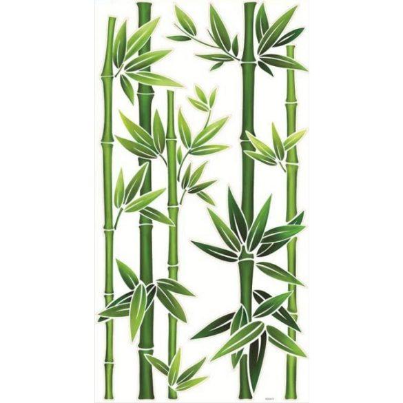 Bambuszok, falmatrica
