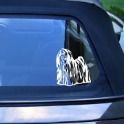 Puli autómatrica a Dekormatricák webáruház matricái közül
