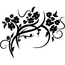 Elhajló virágág