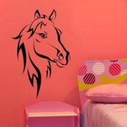 Ló, lovas falmatrica a Dekormatricák webáruházban