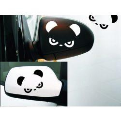 Panda, matrica visszapillantóra