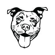 Pitbull autómatrica a Dekormatricák webáruház matricái közül