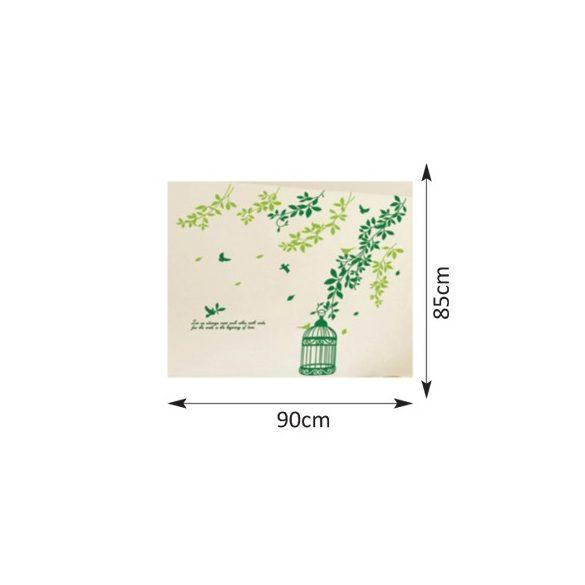 Zöld ágak kalitkával