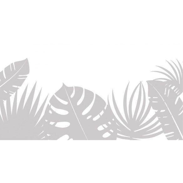 Trópusi növények, ablakmatrica a Dekormatricák falmatrica webáruháztól
