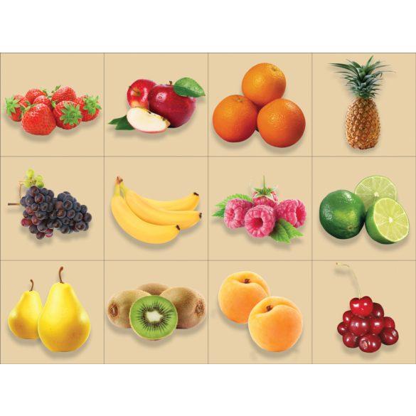 Gyümölcsök-1, 12 db-os csempematrica csomag