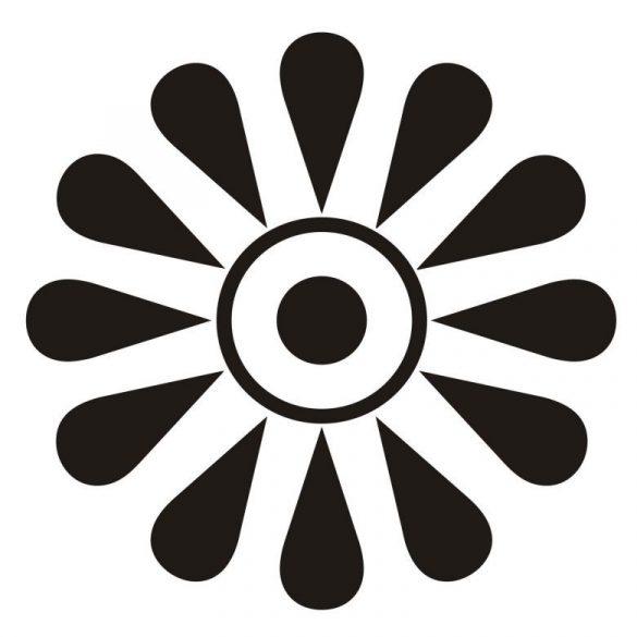 Virág, faltetoválás a Dekormatricák webáruházban