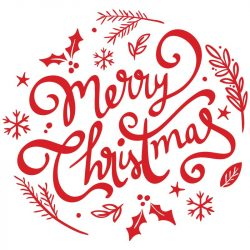Karácsonyi dekor, kirakatmatrica a Dekormatricák Webáruházban