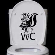WC matrica a Dekormatricák Webáruházban