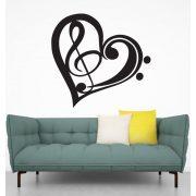 Love music, falmatrica a Dekormatricák falmatrica webáruházban
