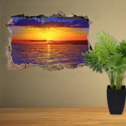 Amikor a nap lemegy, falmatrica a Dekormatricák Webáruházból