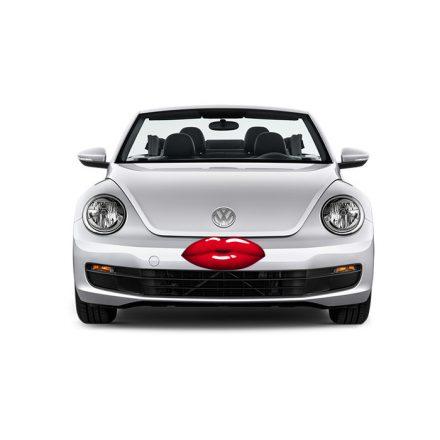 Csücsörítő száj, 3D autómatrica a Dekormatricák autómatrica webáruházban