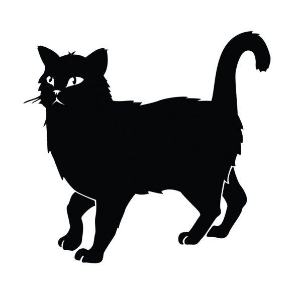 Macska, cicás falmatrica a Dekormatricák Falmatrica Webáruházban