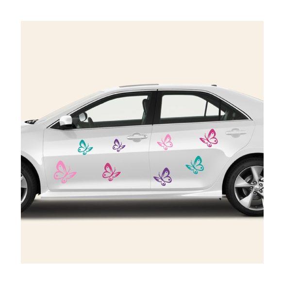 Dobd fel autódat pillangó matricánkkal - Dekormatricák Autómatrica Webáruház