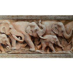 Elefánt mintás öntapadós bordűr