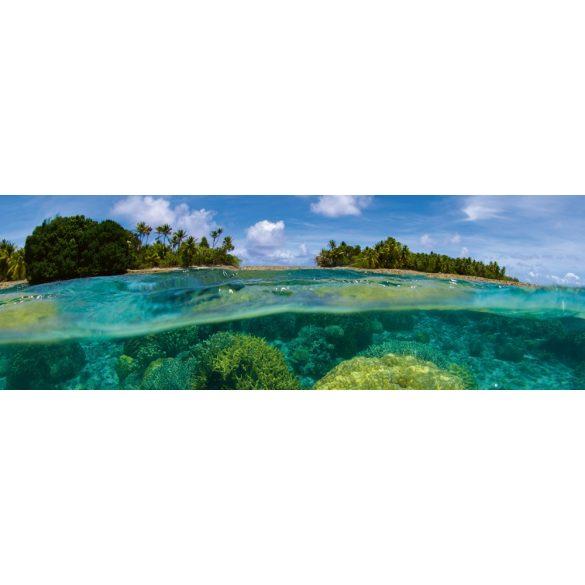 Trópusi korallszigetek, konyhai matrica hátfal, 180 cm