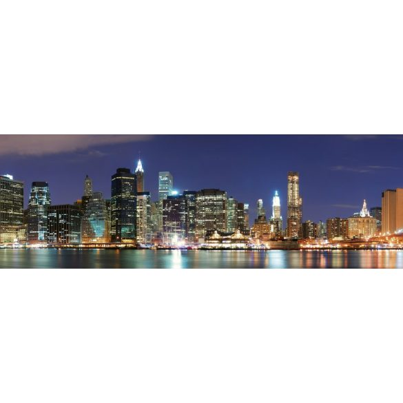 New York fényei, konyhai matrica hátfal, 180 cm