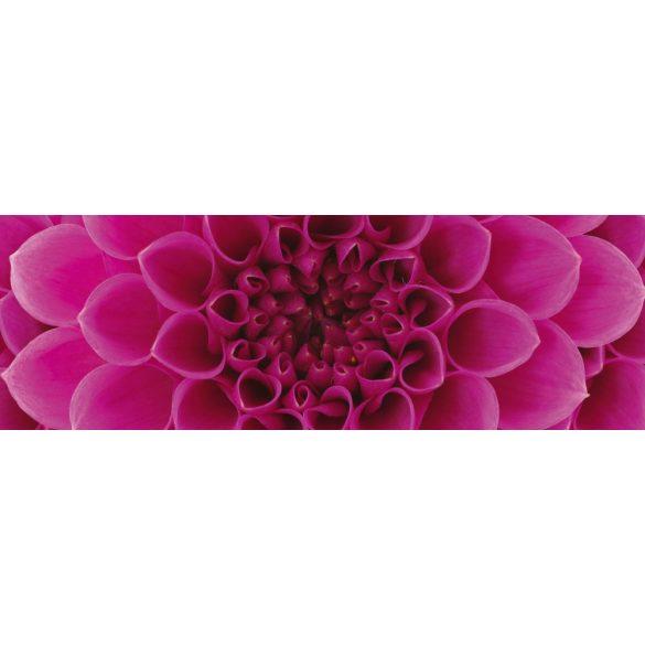 Rózsaszín virág, konyhai matrica hátfal, 180 cm