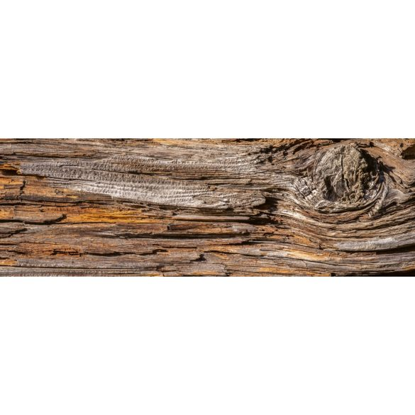 Natúr fa, konyhai matrica hátfal, 180 cm