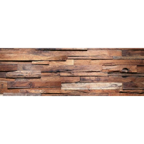 Fa rétegek, konyhai matrica hátfal, 180 cm