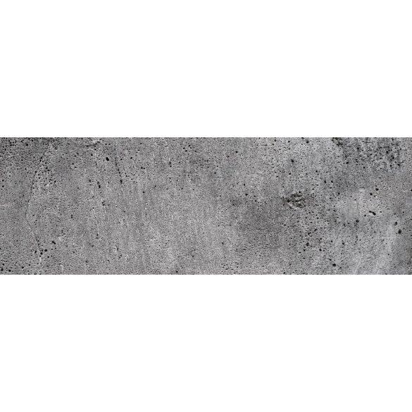 Beton, konyhai matrica hátfal, 180 cm