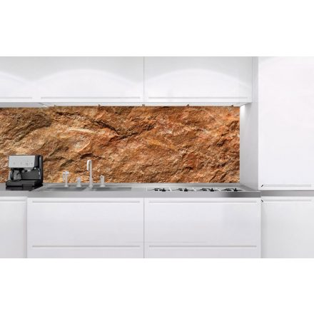 Natúr kő, konyhai matrica hátfal, 180 cm